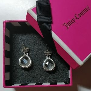 Juicy Couture crystal earrings